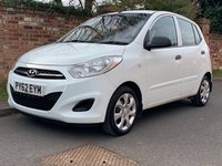 USED 2012 62 HYUNDAI I10 1.2 CLASSIC 5d 85 BHP 2 OWNERS, 1YR MOT, FULL SERVICE HISTORY, £20 ROAD TAX, EXCELLENT CONDITION, AIR CON, E/WINDOWS, R/LOCKING, FREE  WARRANTY, FINANCE AVAILABLE, HPI CLEAR, PART EXCHANGE WELCOME,