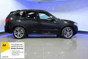 2017 BMW X5 3.0 XDRIVE30D M SPORT 5d AUTO 255 BHP £36996.00