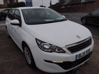 USED 2015 15 PEUGEOT 308 1.6 BLUE HDI S/S SW ACCESS 5d 100 BHP
