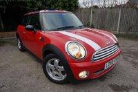 2008 MINI HATCH ONE 1.4 ONE 3d 94 BHP £2695.00