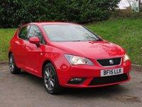 2015 SEAT IBIZA 1.2 TSI I-TECH 5d 104 BHP £7290.00
