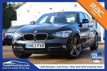 2014 BMW 1 SERIES 1.6 114I SPORT 5d 101 BHP £8700.00