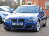 2010 BMW 3 SERIES 2.0 318I SE BUSINESS EDITION 4d 141 BHP