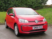 USED 2016 66 VOLKSWAGEN UP 1.0 MOVE UP 3d 60 BHP FROM £26 A WEEK