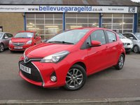 2015 TOYOTA YARIS 1.3 VVT-I ICON 5d 99 BHP £SOLD