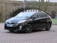 2011 TOYOTA PRIUS 1.8 10TH ANNIVERSARY VVT-I 5d AUTO 99 BHP £12411.00