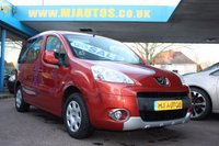 USED 2011 61 PEUGEOT PARTNER 1.6 TEPEE S HDI 5dr 92 BHP Wheelchair Access Vehicle ***ZERO DEPOSIT FINANCE AVAILABLE***