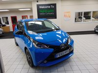 USED 2015 65 TOYOTA AYGO 1.0 VVT-I X-CITE 2 5d 69 BHP FULL SERVICE HISTORY + BLUETOOTH + DAB RADIO + AIR CONDITIONING + REMOTE CENTRAL LOCKING + ZERO ROAD TAX + ELECTRIC FRONT WINDOWS