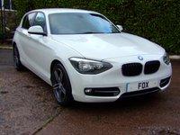 2012 BMW 1 SERIES 2.0 116D SPORT 5d 114 BHP £6975.00