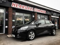 USED 2013 63 RENAULT CLIO 1.1 EXPRESSION PLUS 16V 5d 75 BHP