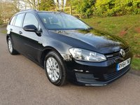 USED 2014 64 VOLKSWAGEN GOLF 1.6 BLUEMOTION TDI 5d 108 BHP **1 OWNER**£0 ROAD FUND**SUPERB DRIVE**