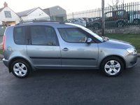 USED 2011 61 SKODA ROOMSTER 1.6 SE TDI CR 2 owners last owner 5 years cambelt changed