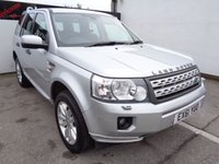USED 2011 61 LAND ROVER FREELANDER 2.2 SD4 HSE 5d AUTO 190 BHP £235 A MONTH SATELLITE NAVIGATION LEATHER TRIM PARKING SENSORS FULL SERVICE HISTORY CLIMATE CONTROL IDEAL TOW CAR