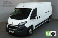 USED 2017 17 PEUGEOT BOXER 2.0 BLUE HDI 335 L3H2 PROFESSIONAL 130 BHP LWB AIR CON EURO 6 SAT NAV BLUETOOTH AND CRUISE