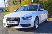 2014 AUDI A4 2.0 TDI ULTRA SE TECHNIK 4d 161 BHP £12991.00