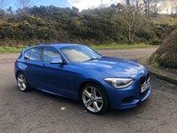 USED 2014 63 BMW 1 SERIES 2.0 118D M SPORT 5d 141 BHP