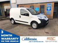 USED 2016 16 PEUGEOT BIPPER 1.2 HDI S 1d 75 BHP CHEAP  3 YEAR OLD VAN!!!!