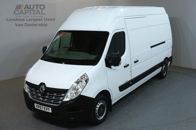 2017 67 RENAULT MASTER 2.3 LH35 BUSINESS DCI 130 BHP L4H3 EXTRA H/ROOF EURO 6  EURO 6 ENGINE ECO DRIVE
