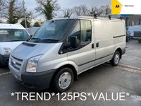 USED 2014 14 FORD TRANSIT 2.2 TDCi 260 TREND 125 BHP SWB *6 SPEED*
