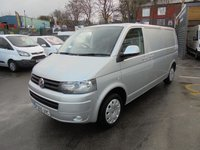 2015 VOLKSWAGEN TRANSPORTER 2.0 TDI T32 140 BHP TRENDLINE LONG WHEEL BASE, AIR CON, CRUISE CONTROL, FULL SERVICE HISTORY!!! FINANCE AVAILABLE !!! £9595.00