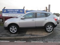 USED 2011 11 NISSAN QASHQAI 1.5 ACENTA DCI 5d 110 BHP 6 Stamps Of Service History. New MOT & Full Service Done on purchase + 2 Years FREE Mot & Service Included After . 3 Months Russell Ham Quality Warranty . All Car's Are HPI Clear . Finance Arranged - Credit Card's Accepted . for more cars www.russellham.co.uk  Spare Key & Owners Book Pack..