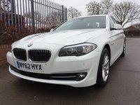 2012 BMW 5 SERIES 2.0 520d SE 4dr 184BHP £10990.00