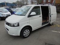 USED 2015 15 VOLKSWAGEN TRANSPORTER 2.0 TDI T28  STARTLINE 115 BHP, SHORT WHEEL BASE, CRUSIE CONTROL, ELECTRIC PACK, ROOF BARS, !! NEW CLUTCH FLY WHEEL JUST FITTED !!