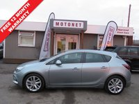 USED 2014 64 VAUXHALL ASTRA 1.6 TECH LINE GT 5DR HATCHBACK  115 BHP MANAGERS SPECIAL PRICE +++FEBRUARY SALE NOW ON+++