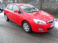 2010 VAUXHALL ASTRA 1.4 EXCLUSIV 5d 98 BHP £3995.00