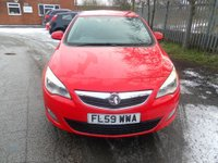 USED 2010 59 VAUXHALL ASTRA 1.4 EXCLUSIV 5d 98 BHP