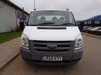 USED 2010 59 FORD TRANSIT 2.4 350 DRW 1d 100 BHP RECOVERY TRUCK AIR SUSPENSION PART EXCHANGE AVAILABLE / ALL CARDS / FINANCE AVAILABLE
