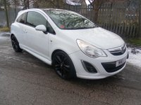 2011 VAUXHALL CORSA 1.2 LIMITED EDITION 3d 83 BHP £4995.00