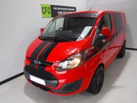 USED 2015 FORD TRANSIT CUSTOM 2.2 270 LR P/V 1d 124 BHP WE HAVE OVER 30 VANS IN STOCK LW/SWB/MWB CREW CABS   AMAZING VAN IN GLEAMING RED,   FULL  SERVICE HISTORY, IMMACULATE BODY WORK, ELEC WINDOWS, ARM REST, REMOTE CENTRAL LOCKING, CD PLAYER, BULK HEAD, CARGO LINING, POWER ASSISTED STEERING, TOW BAR, CRUISE CONTROL, WILL COME FULL SERVICED READY FOR WORK GREAT VAN