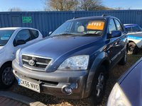 2006 KIA SORENTO 2.5 XE CRDI 5d 139 BHP sold by us before once before  £2995.00