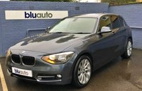 2013 BMW 1 SERIES 1.6 116I SPORT 5d 135 BHP £10400.00