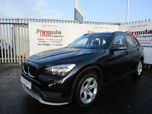 USED 2014 14 BMW X1 2.0 18d SE xDrive 5dr 2 OWNERS+FULL MOT+VALUE