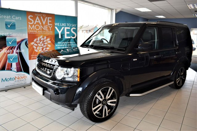 2011 61 LAND ROVER DISCOVERY 4 3.0 4 SDV6 HSE 5d AUTO 255 BHP COMMAND SHIFT BLACK STYLING PACK COMMAND SHIFT