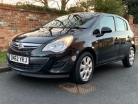 USED 2012 62 VAUXHALL CORSA 1.2 EXCLUSIV AC CDTI ECOFLEX S/S 5d 73 BHP 2 OWNERS, MOT DEC 19, FULL SERVICE HISTORY, EXCELLENT CONDITION, ALLOYS, AIR CON, E/WINDOWS, R/LOCKING, FREE  WARRANTY, FINANCE AVAILABLE, HPI CLEAR, PART EXCHANGE WELCOME,