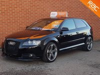 2007 AUDI A3 2.0 TDI QUATTRO  S LINE 3d 168 BHP FULL BLACK LEATHER £5495.00