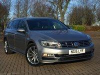 2015 VOLKSWAGEN PASSAT 2.0 R LINE TDI BLUEMOTION TECHNOLOGY DSG 5d AUTO 148 BHP £12995.00