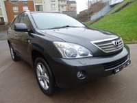 USED 2008 08 LEXUS RX 3.3 400H SE CVT 5d AUTO 208 BHP 1 PREVIOUS KEEPER *  * FULL SERVICE RECORD (10 STAMPS) *  NAVIGATION SYSTEM *  REVERSING CAMERAS