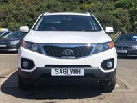 USED 2011 61 KIA SORENTO 2.2 CRDI KX-2 5d AUTO 195 BHP 2 PREVIOUS KEEPER *  7 SEATS *  SERVICE RECORD *  FULL LEATHER TRIM *  PARKING AID *  PRIVACY GLASS *