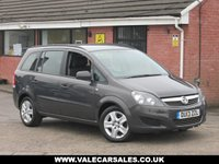 USED 2013 13 VAUXHALL ZAFIRA 1.7 CDTI EXCLUSIV (7 SEATS) 5dr GREAT VALUE FOR MONEY DIESEL 7 SEATER