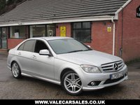 USED 2008 MERCEDES-BENZ C CLASS C220 CDI SPORT AUTO (£3,465 OF EXTRAS) 4dr OVER £3,500 OF OPTIONAL EXTRAS / FULL LEATHER / FULL SERVICE HISTORY