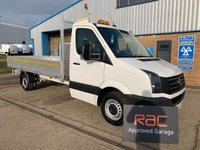 USED 2016 66 VOLKSWAGEN CRAFTER 2.0 (EURO 6) CR35 TDI C/C 1d 136 BHP DROPSIDE CLEAN AND TIDY DROPSIDE. DRIVES SUPERB