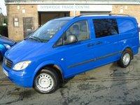 2006 MERCEDES-BENZ VITO 2.1 109 CDI LONG SWB 1d 87 BHP £3850.00