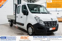 USED 2013 13 RENAULT MASTER 2.3 LL35 DCI L/R DCB DROPSIDE 1d 145 BHP