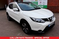 USED 2015 65 NISSAN QASHQAI 1.5 DCI N-TEC PLUS 5d 108 BHP +PAN ROOF +SAT NAV +LOW TAX.