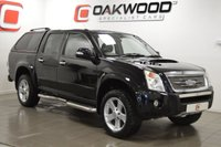 USED 2007 07 ISUZU RODEO 2.5 RODEO DENVER MAX LE TD LWB D/C 1d 135 BHP LOW MILES + SAT NAV + LEATHER RUNNER BOARDS + LOAD LINER