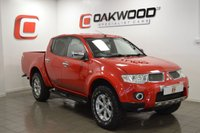 USED 2012 12 MITSUBISHI L200 2.5 DI-D 4X4 BARBARIAN LB DCB 1d 175 BHP NO VAT + LEATHER + SAT NAV + LOW MILES + PART EX WELCOME